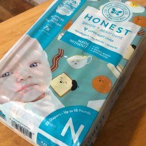 Honest breakfast newborn diapers